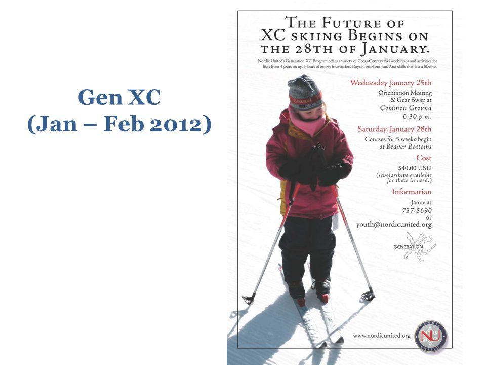 Gen XC (Jan – Feb 2012)