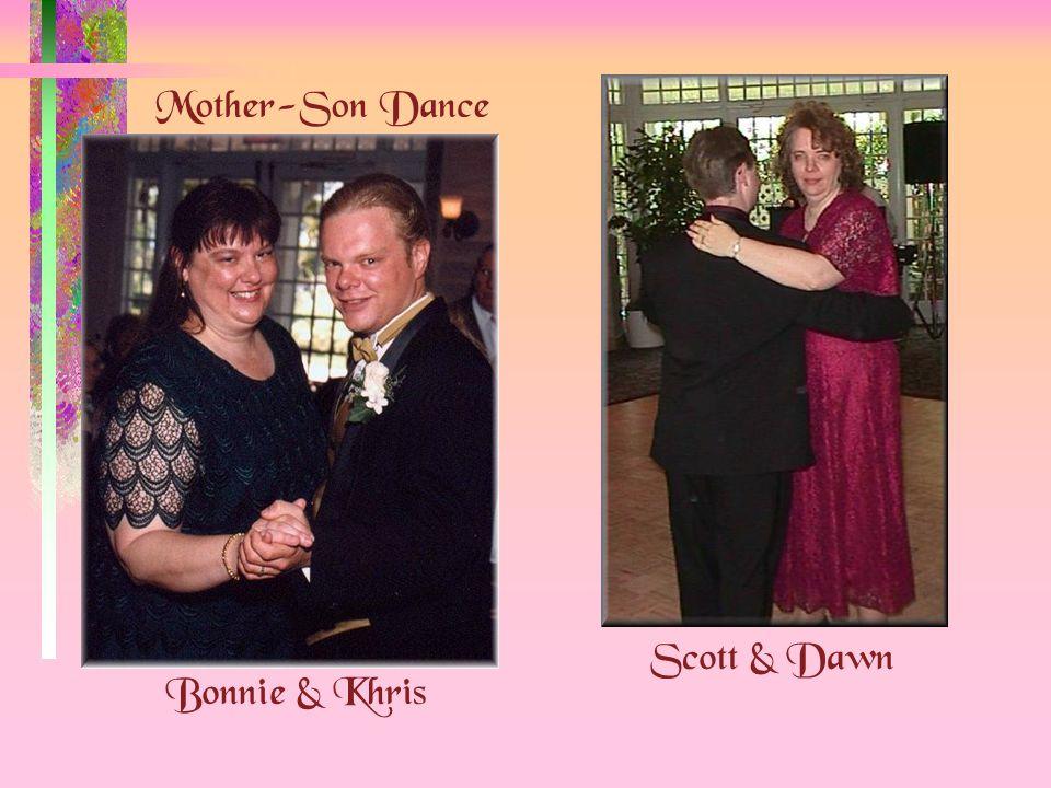 Mother-Son Dance Bonnie & Khris Scott & Dawn