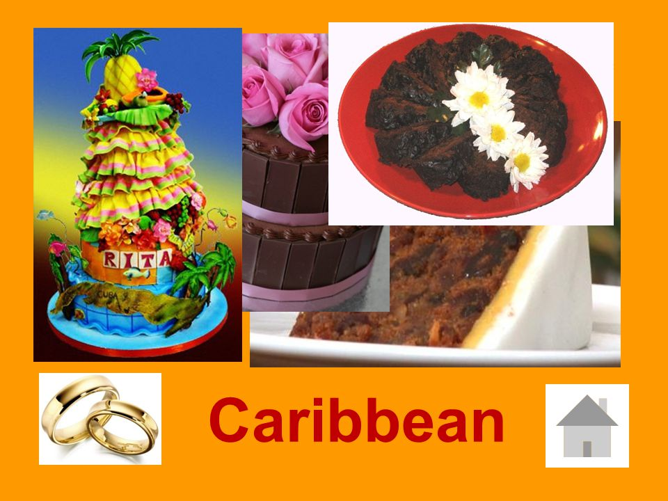 The …. traditional wedding cake is a Black Cake Caribbean Oceania Asian Caribbean