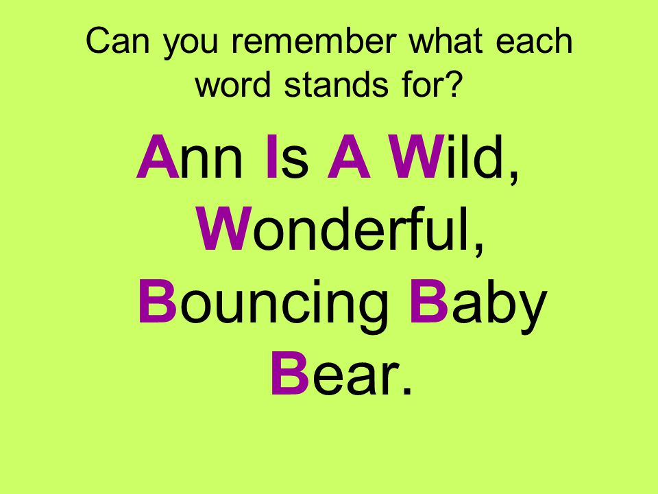 Common Linking Verbs The most common linking verbs can be memorized using the following mnemonic: Ann Is A Wild, Wonderful, Bouncing Baby Bear.