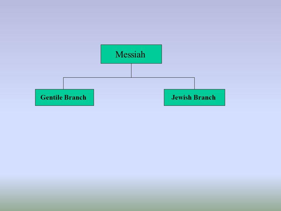 Messiah Gentile BranchJewish Branch