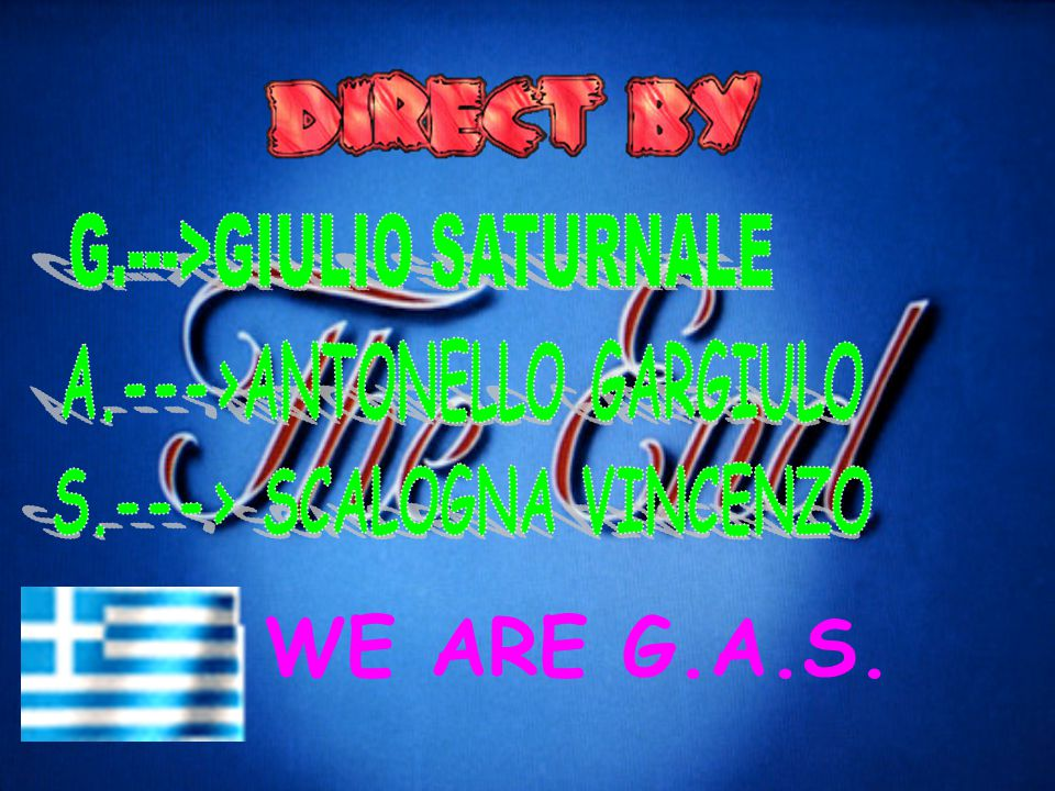 WE ARE G.A.S.