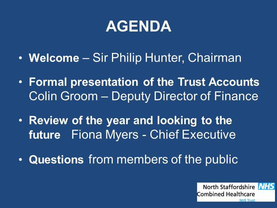 Annual Accounts 2009/10 COLIN GROOM Deputy Director of Finance