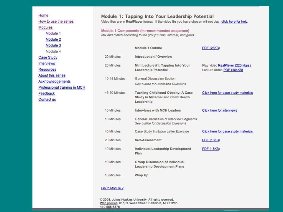 Module 1 Mini-Lecture 15 minute video