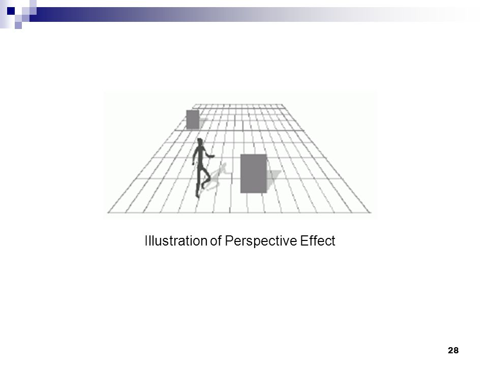 28 Illustration of Perspective Effect