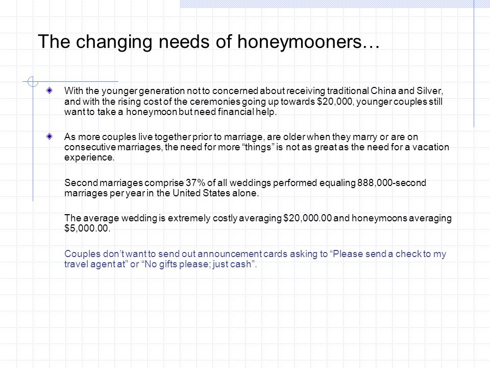 How does the Honeymoon Registry Benefit Travel Agents.