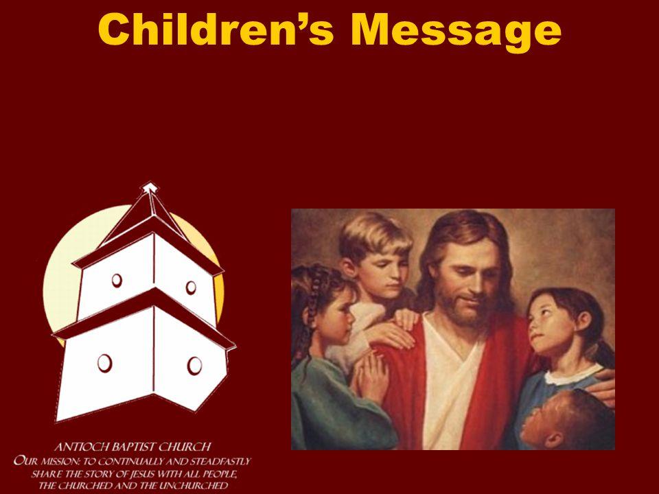 Children's Message