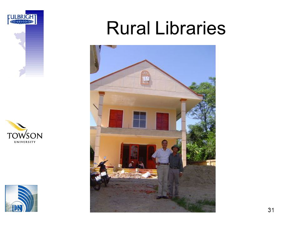 31 Rural Libraries