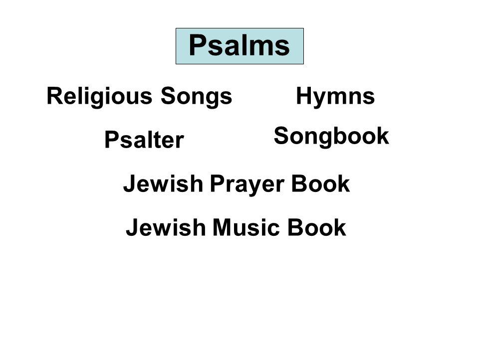 Psalms Religious SongsHymns Psalter Songbook Jewish Prayer Book Jewish Music Book