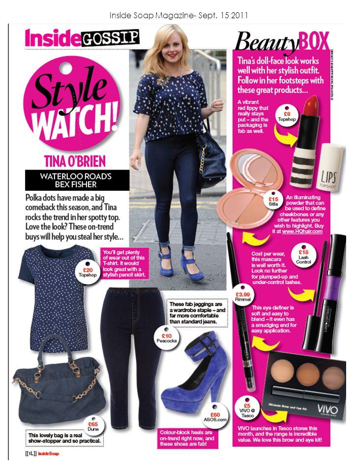 Inside Soap Magazine- Sept. 15 2011