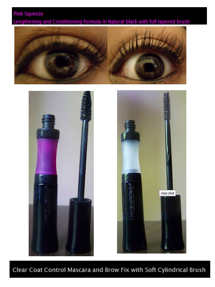 I Tried it Tuesday: Lash Control Mascara August 16, 2011 By Dawn Davis Clumpy lashes are a personal pet peeve.