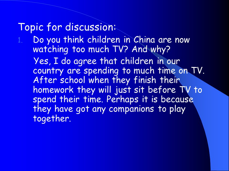 Main idea of Text 2 This article is taken from Newsweek, December 3, 2001. It is an report about the effect of TV and junk food on children. Parents w