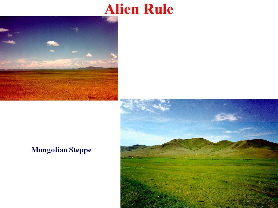 Alien Rule Mongolian Steppe
