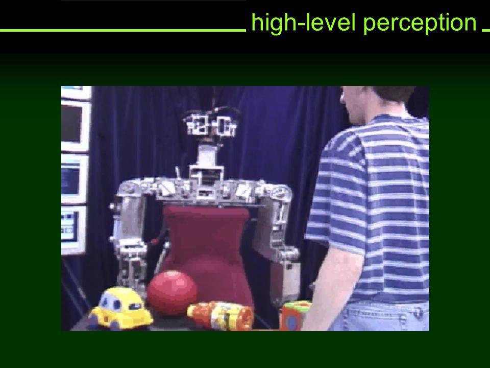 high-level perception