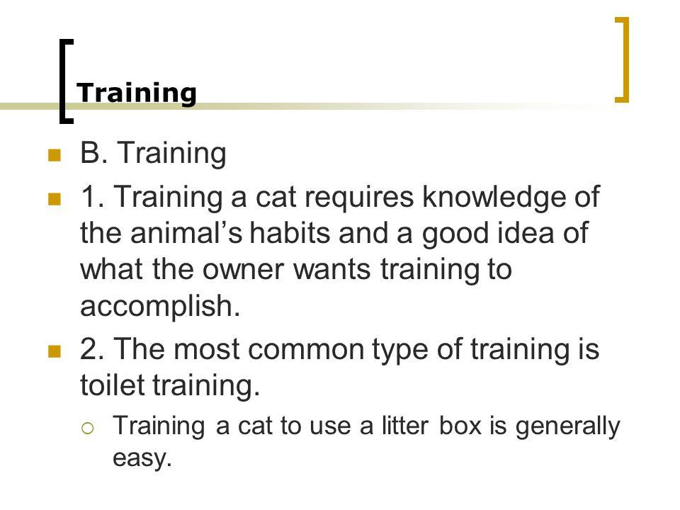 Training B.Training 1.
