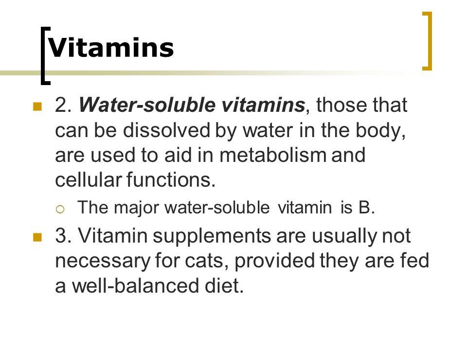 Vitamins 2.