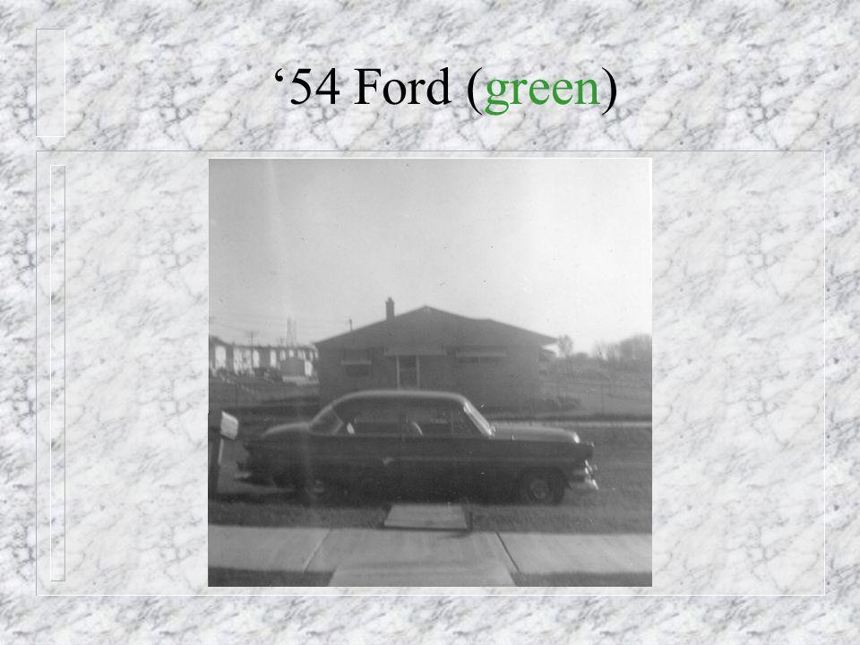 1954 - New Car!
