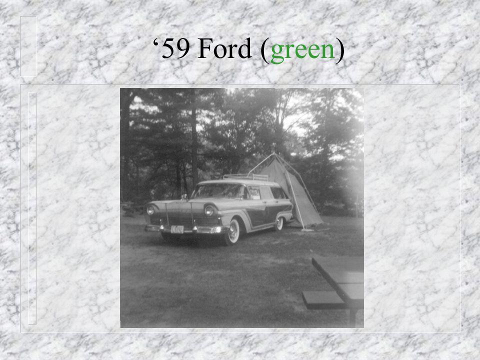1959 - New Car!
