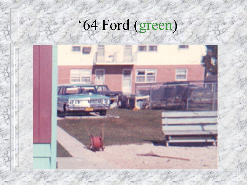 1964 - New Car!