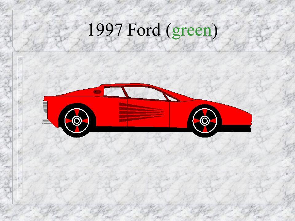 1997 - New Car!