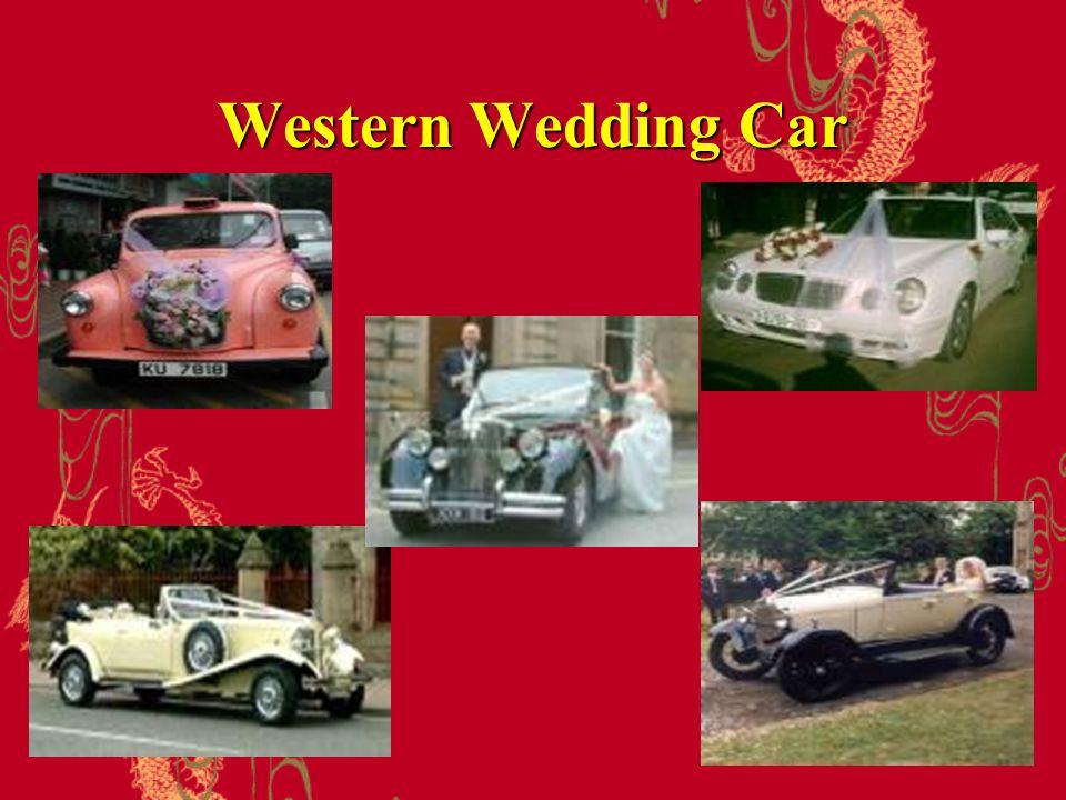 Western Wedding Car