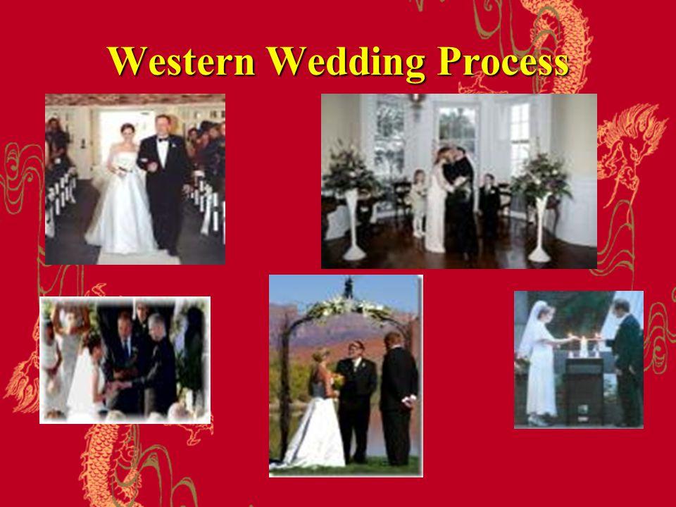 Western Wedding Process
