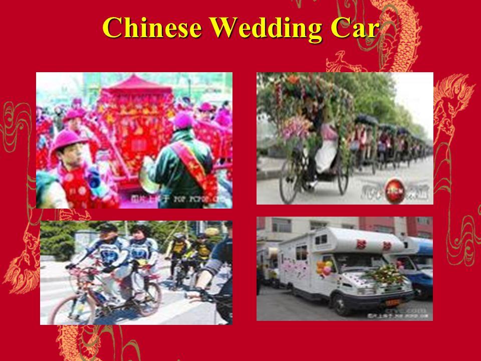 Chinese Wedding Car