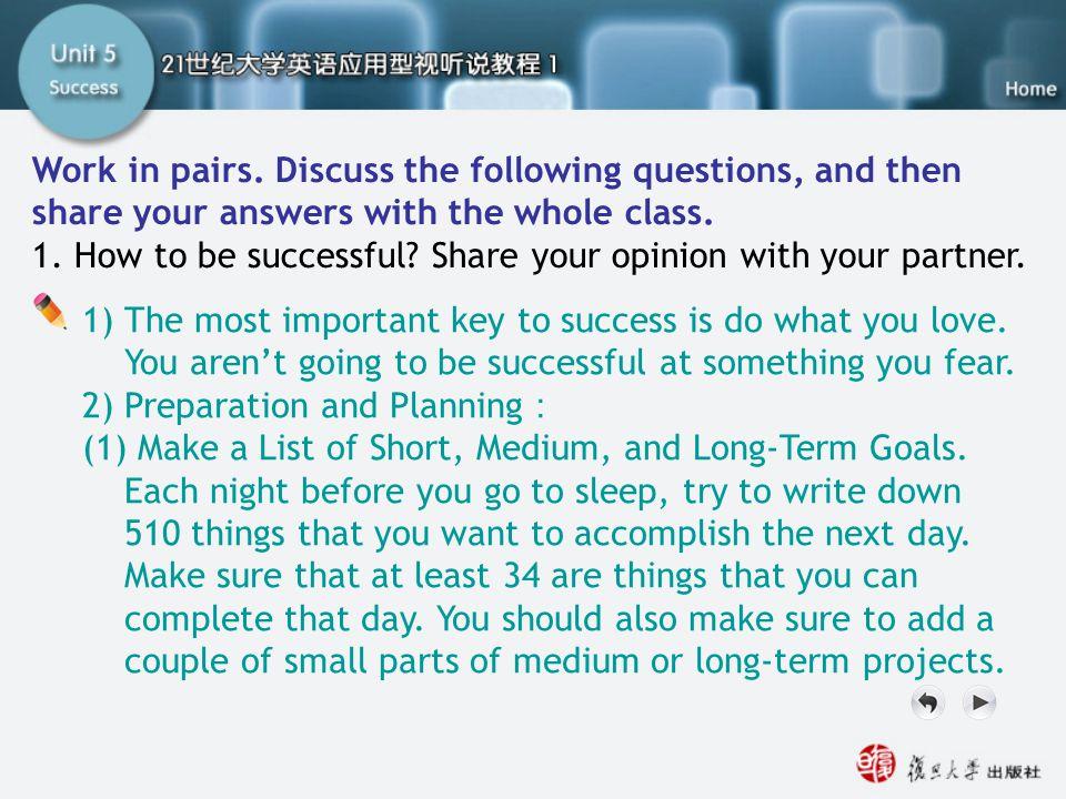 Word Tips opposite n.对立面,对立物 accomplish v. 完成,实现 attempt n.