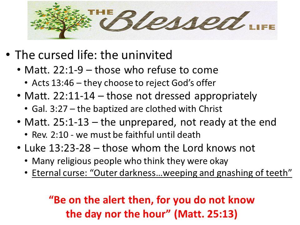 The cursed life: the uninvited Matt.