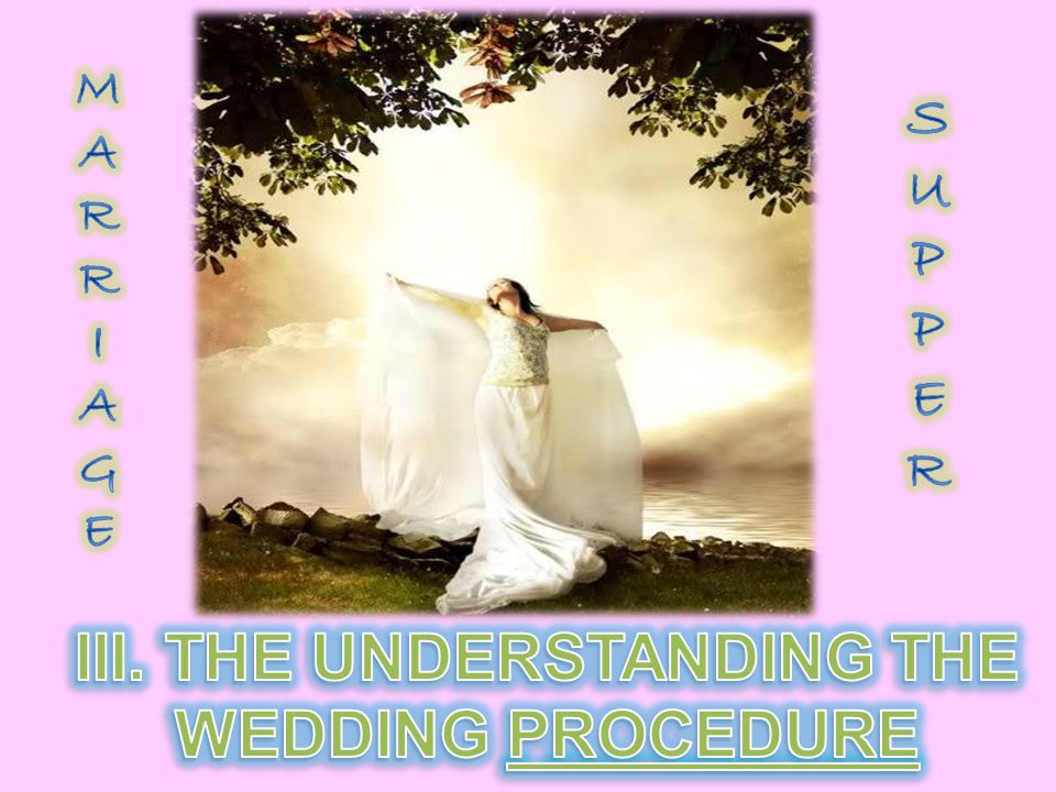 3.After the marriage covenant had been established, the groom would leave the home of the bride and return to his father s house.