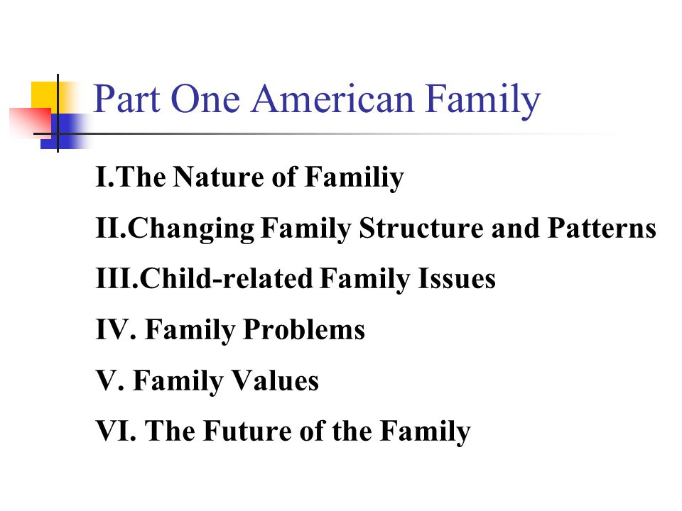 figures In 2000: 6,000,000 couples are currently cohabitating In the U.S., 40% are raising children at home.