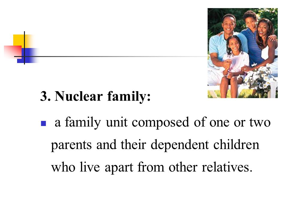 VI. The Future of Families ----Is Family Going to Die?