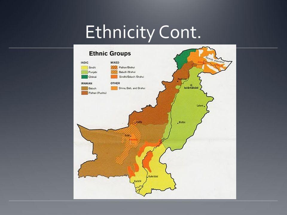 Language Punjabi 48% Sindhi 12% Siraiki (a Punjabi variant) 10% Pashtu 8% Urdu (official) 8% Balochi 3% Hindko 2% Brahui 1% English (official; lingua franca of Pakistani elite and most government ministries) Burushaski Other 8%