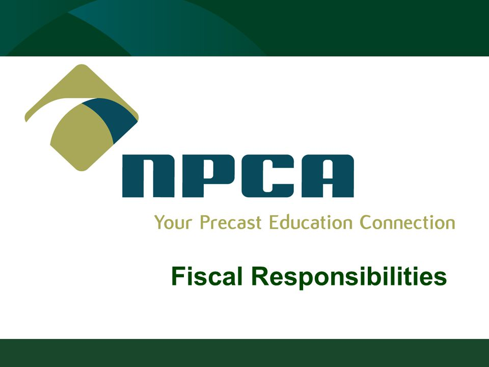 Fiscal Responsibilities