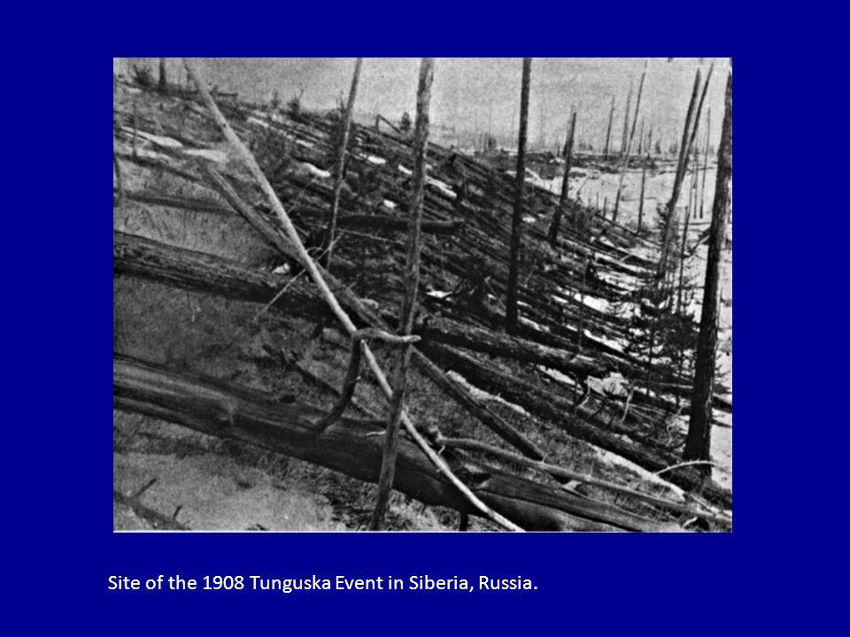Site of the 1908 Tunguska Event in Siberia, Russia.