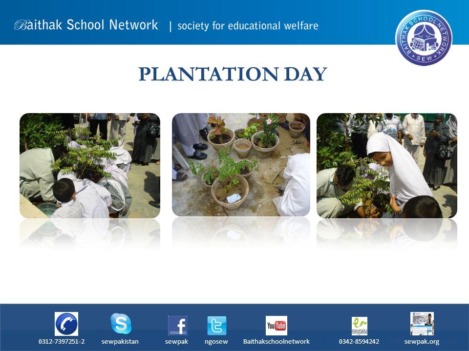 PLANTATION DAY 0312-7397251-2 sewpakistan sewpak ngosew Baithakschoolnetwork 0342-8594242 sewpak.org