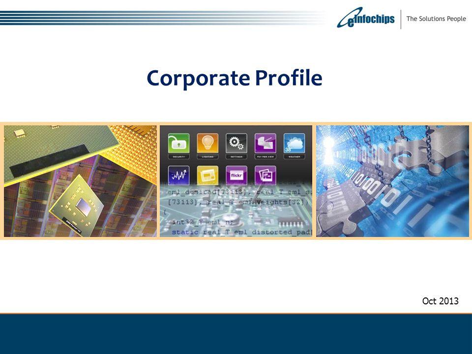 Corporate Profile Oct 2013