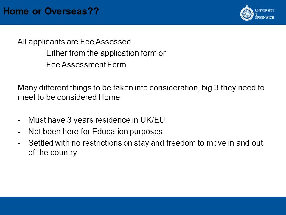 Home or Overseas?.