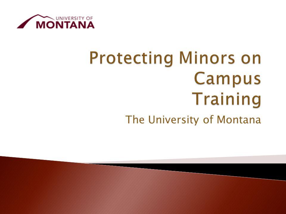 The University of Montana