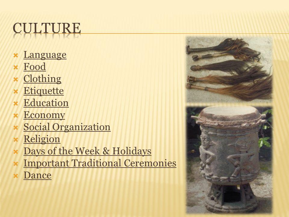  Kwifo- The Kwifo is the supreme state regulatory society / council.