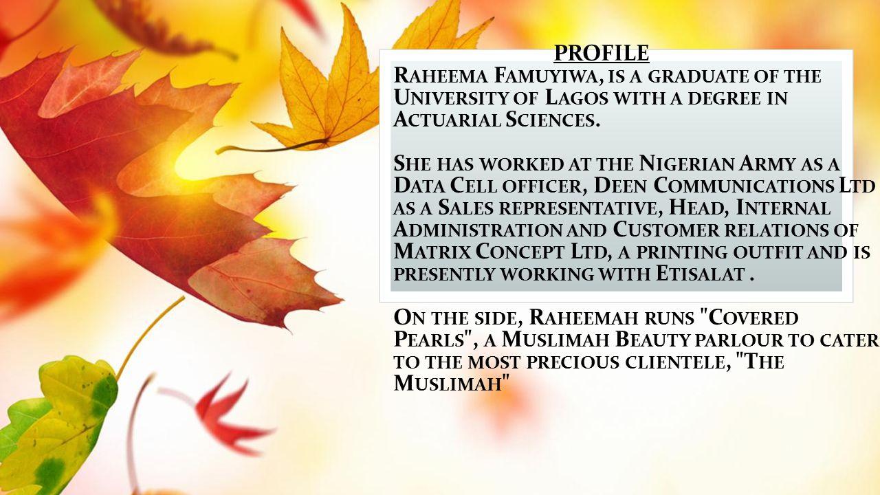D ATING & MY NIKAAH … By Raheemah Famuyiwa