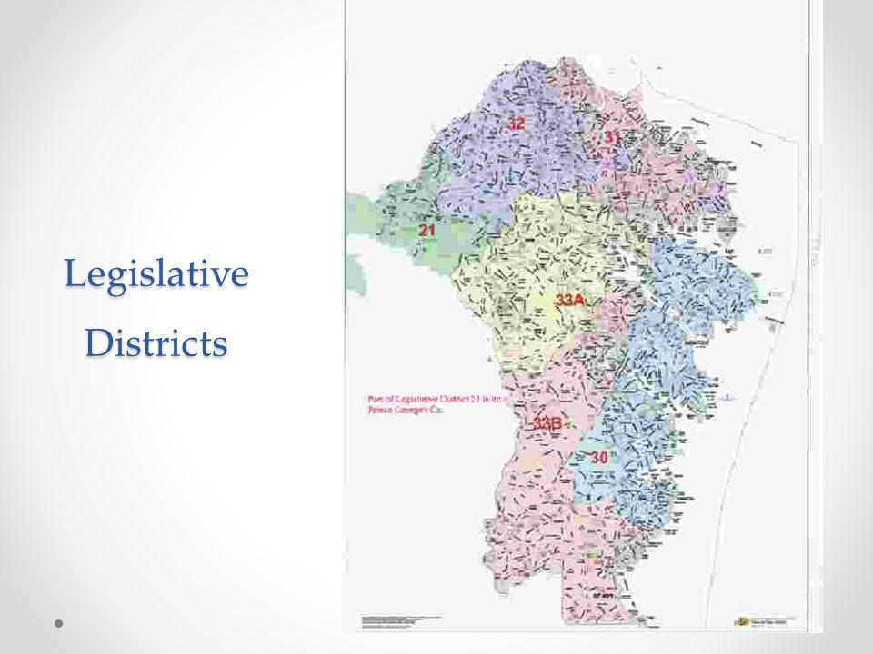 Legislative Districts