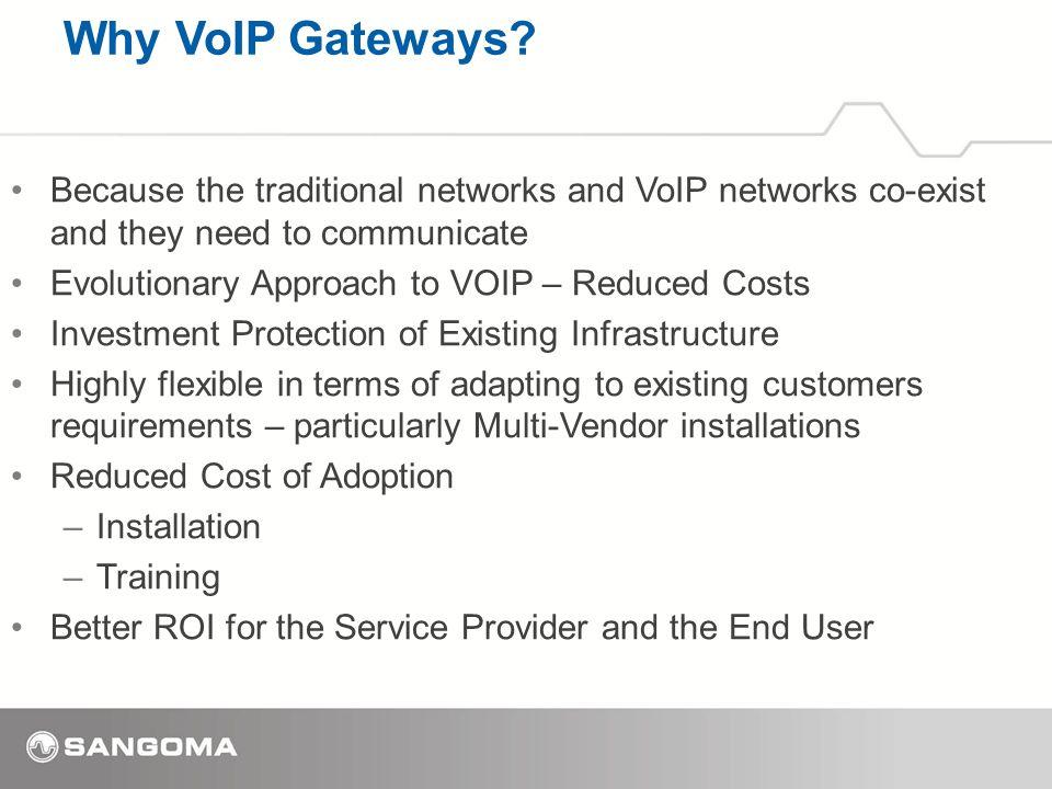 Why VoIP Gateways.