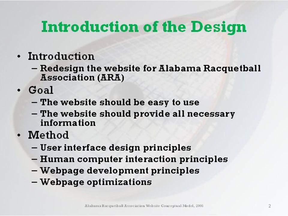 Dr. Carlisle's WebPage DEMO