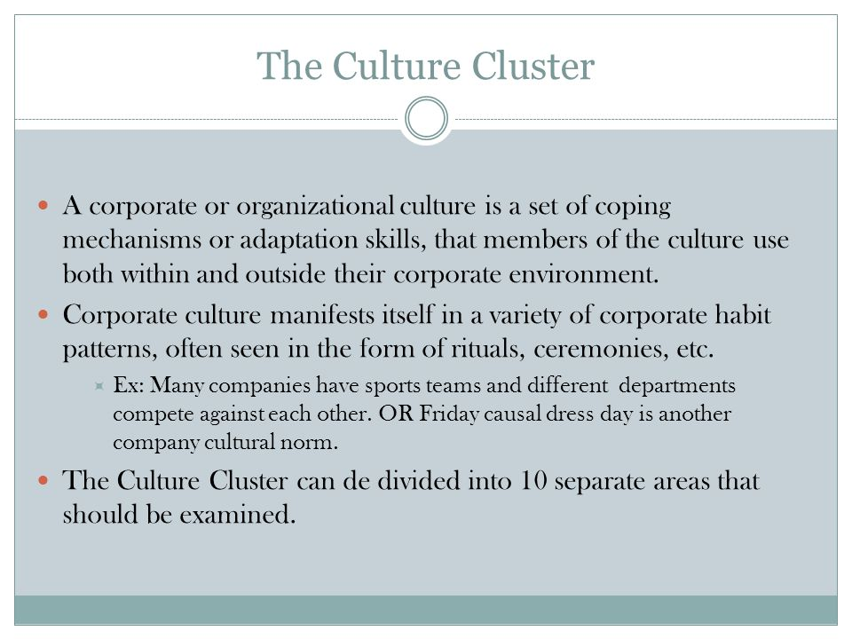 1.Decision making and problem solving This covers all the ways decisions are made in an organization, including those that reflect management and board receptivity to new ideas, esp.