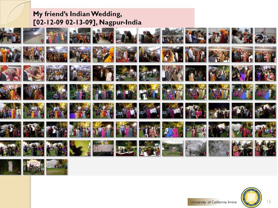 My friend's Indian Wedding, [02-12-09 02-13-09], Nagpur-India 15 University of California Irvine