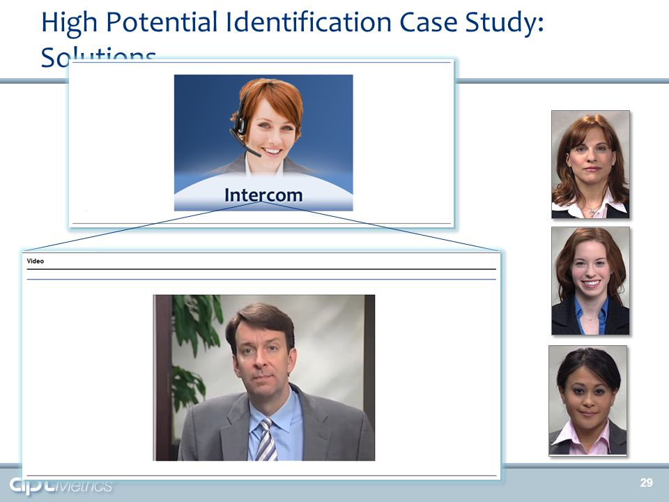 High Potential Identification Case Study: Solutions 29