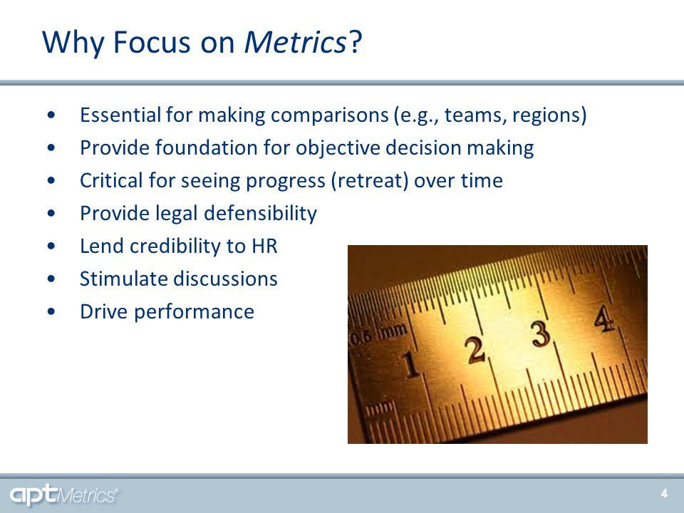 Development Case Study: Metrics (cont.) 15