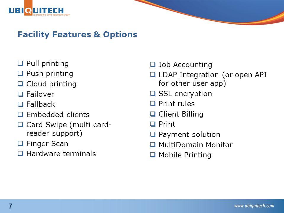 8 Always Partner Sale  Print Management Solutions:  Ubiquitech have today approx.