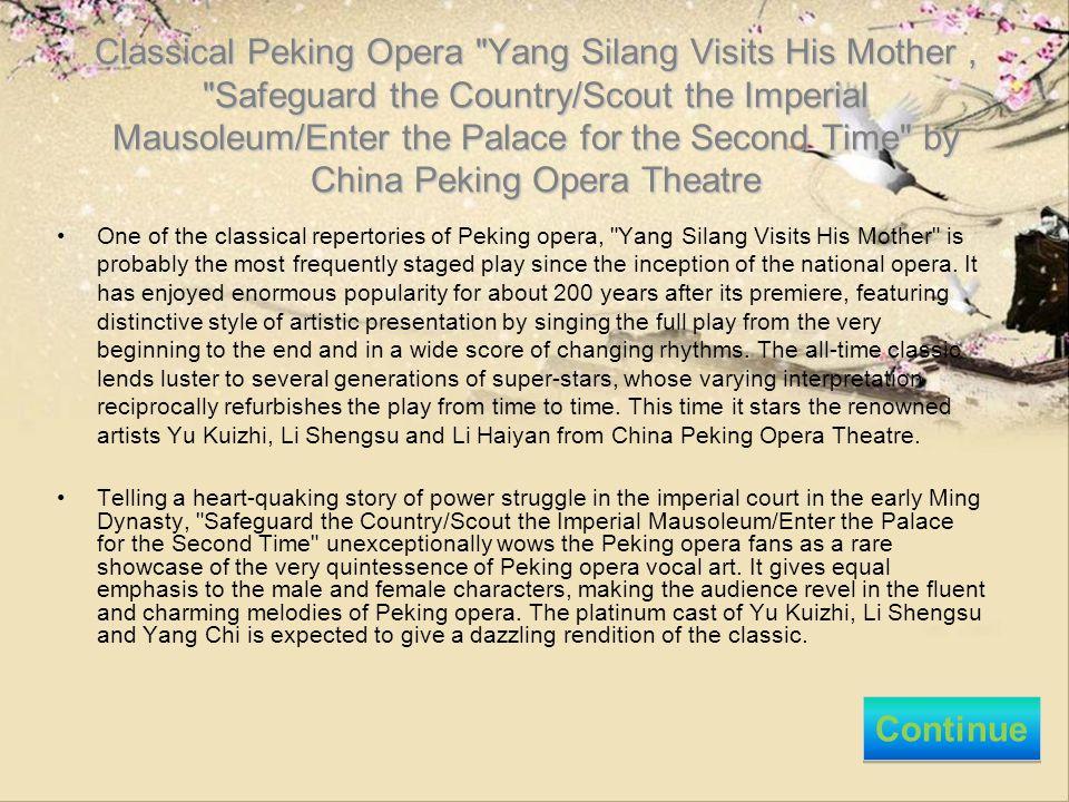 Classical Peking Opera
